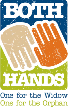 Both Hands - One for the widow, One for the orphan