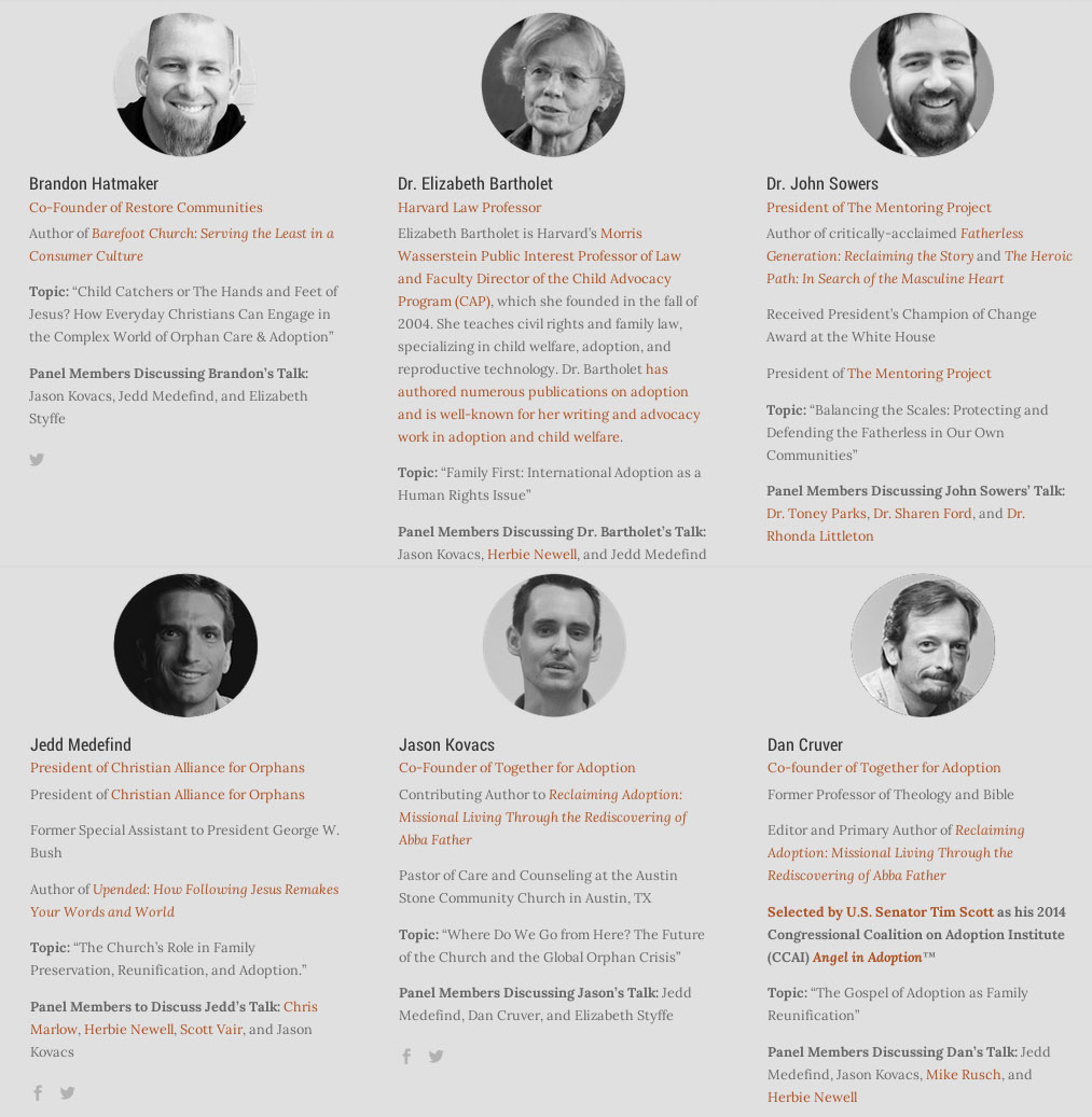 2014 30-Min Speakers