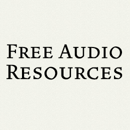 Free Audio Resources Button 210 x 210