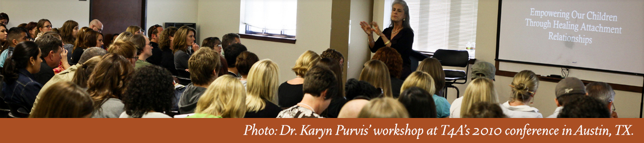 Karyn Purvis 2010 T4A Workshop