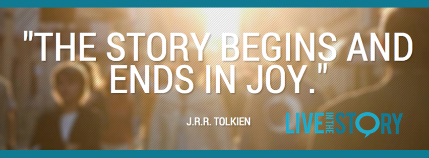 This Story Begins and Ends in Joy - Facebook Cover