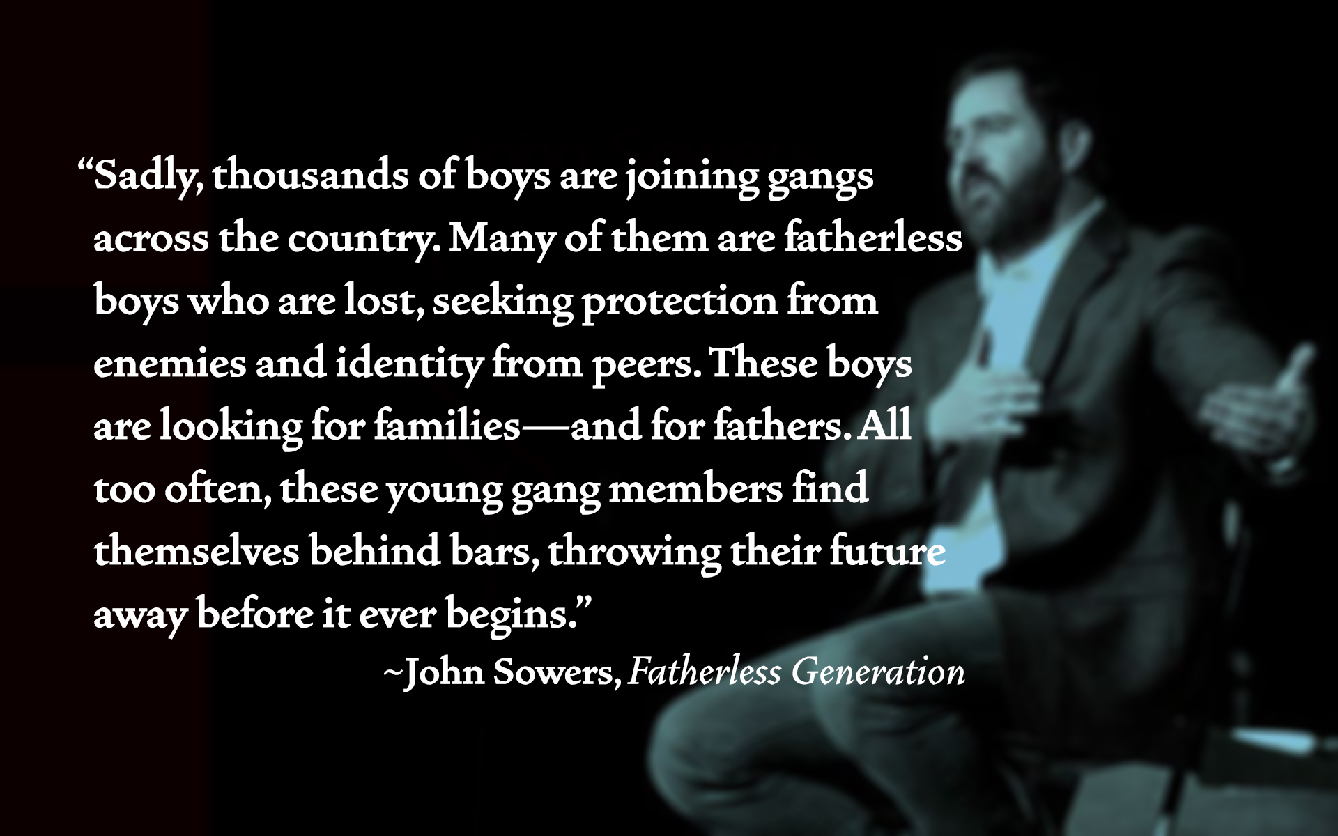 Wallpaper John Sowers - boys in gangs