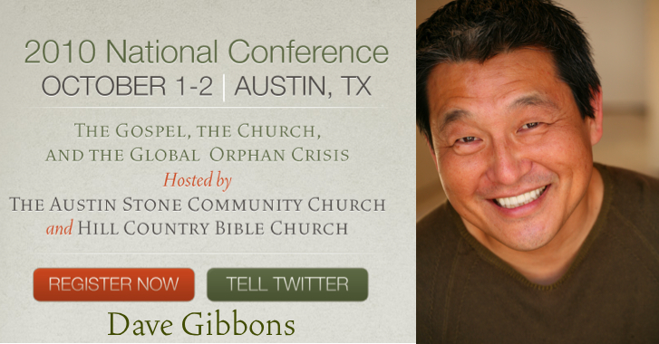 Who will be at our conference? Dave Gibbons « Together for