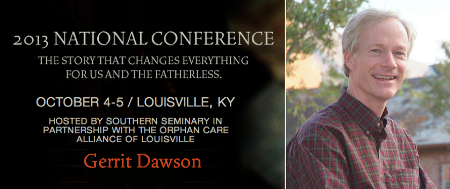 Who will be at NatCon 2013 - Gerrit Dawson
