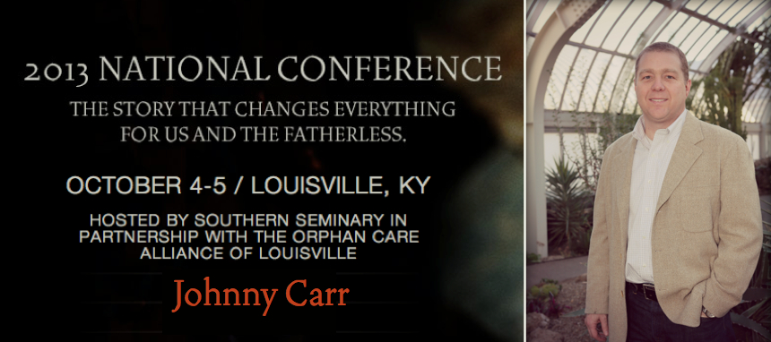 Who will be at NatCon 2013 - Johnny Carr