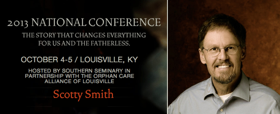 Who will be at our conference - Scotty Smith